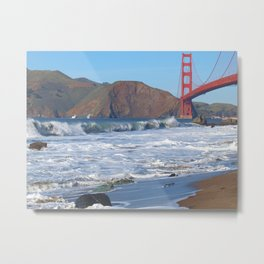 Baker's Beach - San Francisco, CA Metal Print