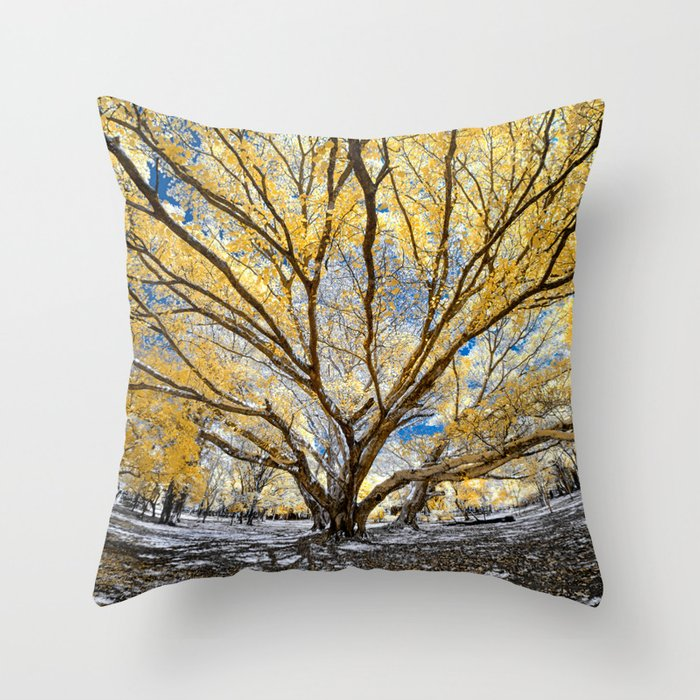 Gorgeous Big Tree Throw Pillow