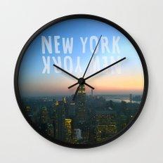 New York, New York Wall Clock