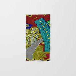 Building Deco Art Hand & Bath Towel