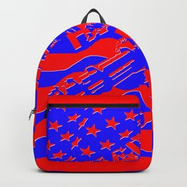 Home of the Free Because of the Brave Backpack