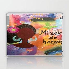 Miracles Do Happen Laptop & iPad Skin