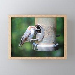 Stopping For Lunch Framed Mini Art Print