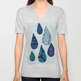 Drippin Unisex V-Neck
