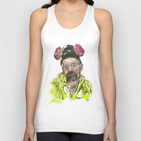 walter white Tank Tops featuring Walter White  by Madows