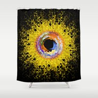 apollo Shower Curtains featuring Apollo by KAndYSTaR