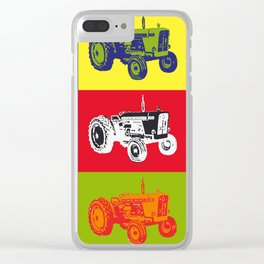David Brown tractor Clear iPhone Case