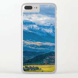 Outside of Ridgway Clear iPhone Case