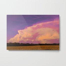Neon Sky Metal Print