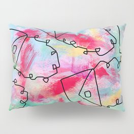 Grab Your Bag and Fly and See the World by Lenna Pillow Sham