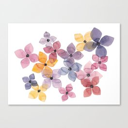 the daily creative project: transparency Canvas Print