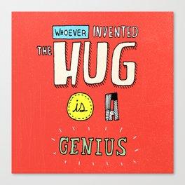 Mr. Hug Canvas Print