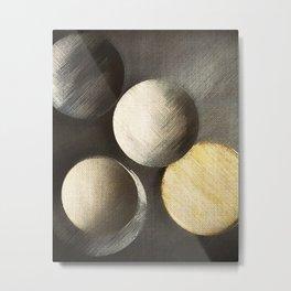 Five Moons Metal Print