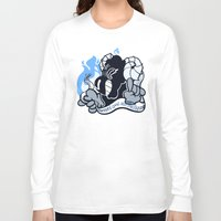 baphomet Long Sleeve T-shirts featuring BAPHOMET by QueenBees
