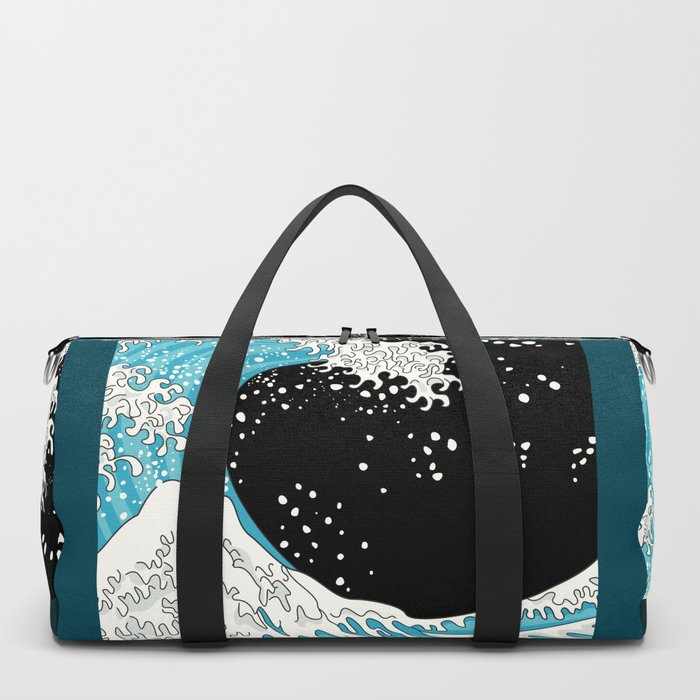 The Great Wave (night version) Duffle Bag
