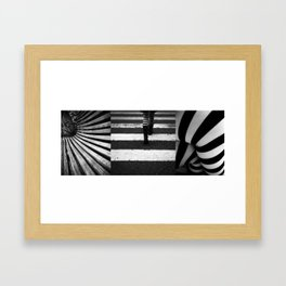 Pattern of obsession Framed Art Print