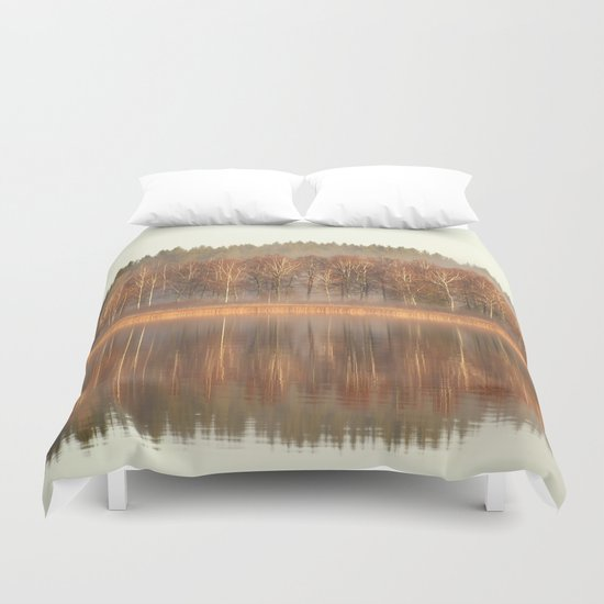 Foggy Reflection Duvet Cover