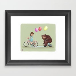 Happy times Framed Art Print