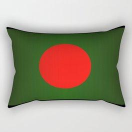 Bangladesh National Flag Rectangular Pillow