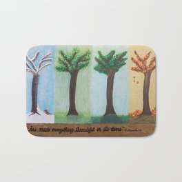 Four Seasons Bath Mat