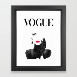 Vogue Framed Art Print