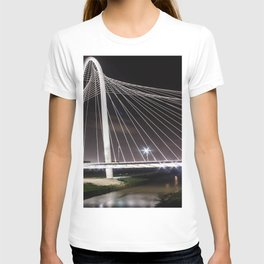 Margaret Hunt Hill Bridge Dallas, TX T-shirt