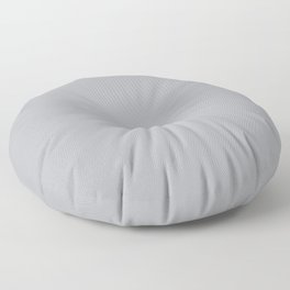 Gray Day - Solid Color Collection Floor Pillow