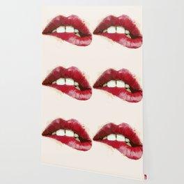 Luscious Lips Wallpaper
