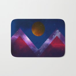 Denver Flag/Galaxy Bath Mat
