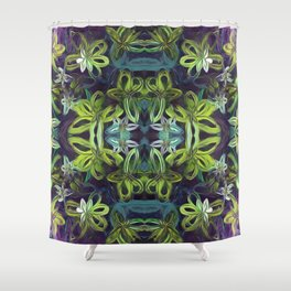 Tropical Greenery Shower Curtain