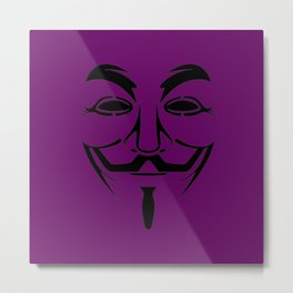 purple vendetta Metal Print