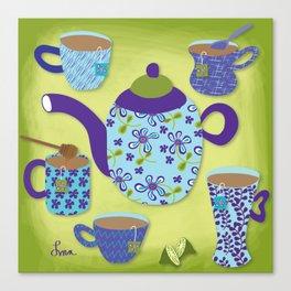 Tea Time Canvas Print
