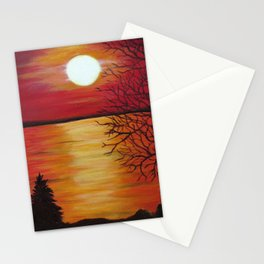 Another Beach Sunset Stationery Cards