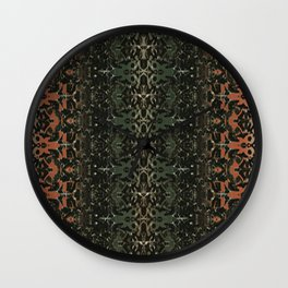 ornate rug Wall Clock