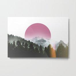 Mountain Glory Metal Print