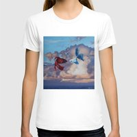 the life aquatic T-shirts featuring Aquatic Skies by BAM! Arts