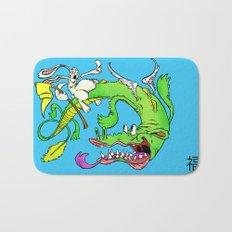 The Luck Dragon Bath Mat