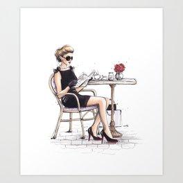 Le Petit Dejeuner Art Print