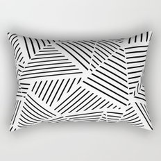 Ab Linear Zoom W Rectangular Pillow
