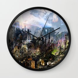 ACS-X23-Mix5Cropped Wall Clock