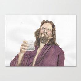 "Jeffrey ""the Dude"" Lebowski Canvas Print"