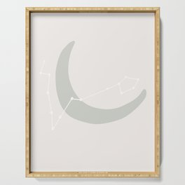 Moon in Pisces Serving Tray