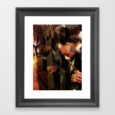 The Builder Framed Art Print