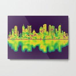 Boston Massachusetts Skyline Metal Print