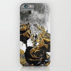 Flowers Bloom As Black As Night Slim Case iPhone 6s