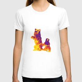 Ours Republique purple T-shirt