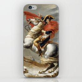 Napoleon Crossing the Alps iPhone Skin