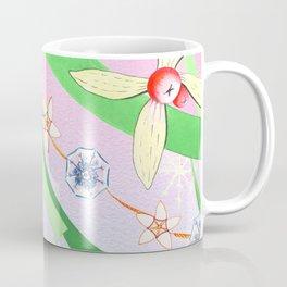Christmas Tinsel Pink Coffee Mug