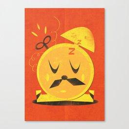 Mr. Clockoverworked ( 2010 ) Canvas Print