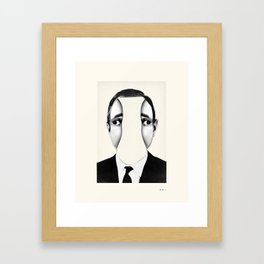 PEEKABOO Framed Art Print
